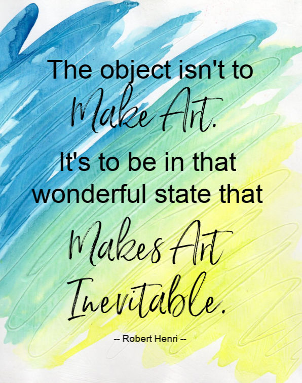 Art is inevitable